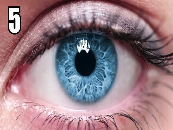 Fakta o vašich očích