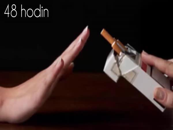 Co se stane, když přestanete kouřit