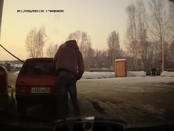 Ruská čerpací stanice