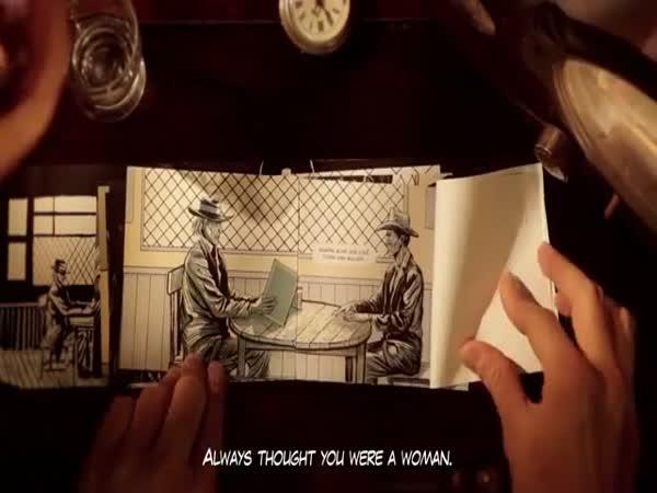 Kreativní způsob animace příběhu