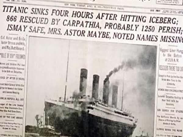 Proč se v Titanicu nenašla těla?
