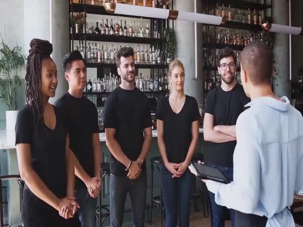 Sociální experiment v restauraci