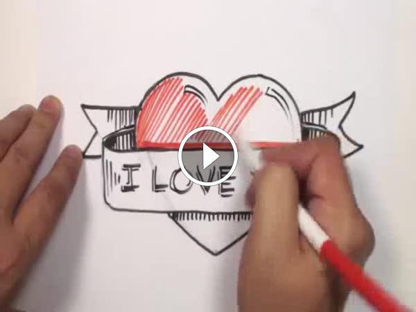 Navod Jak Nakreslit Srdce S Napisem Loupak Cz